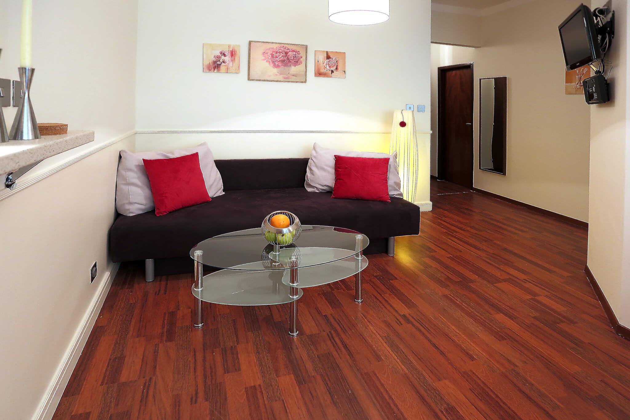 Short term accommodation in Bratislava- Grosslingova street