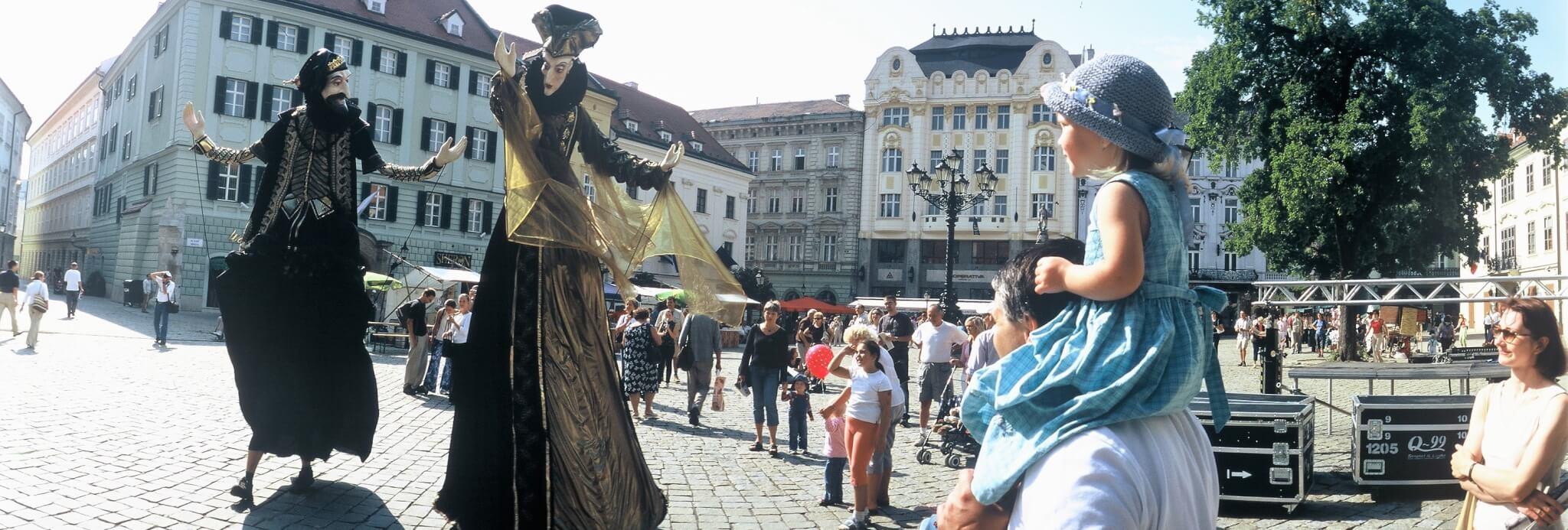 Bratislava v lete - Hlavné námestie