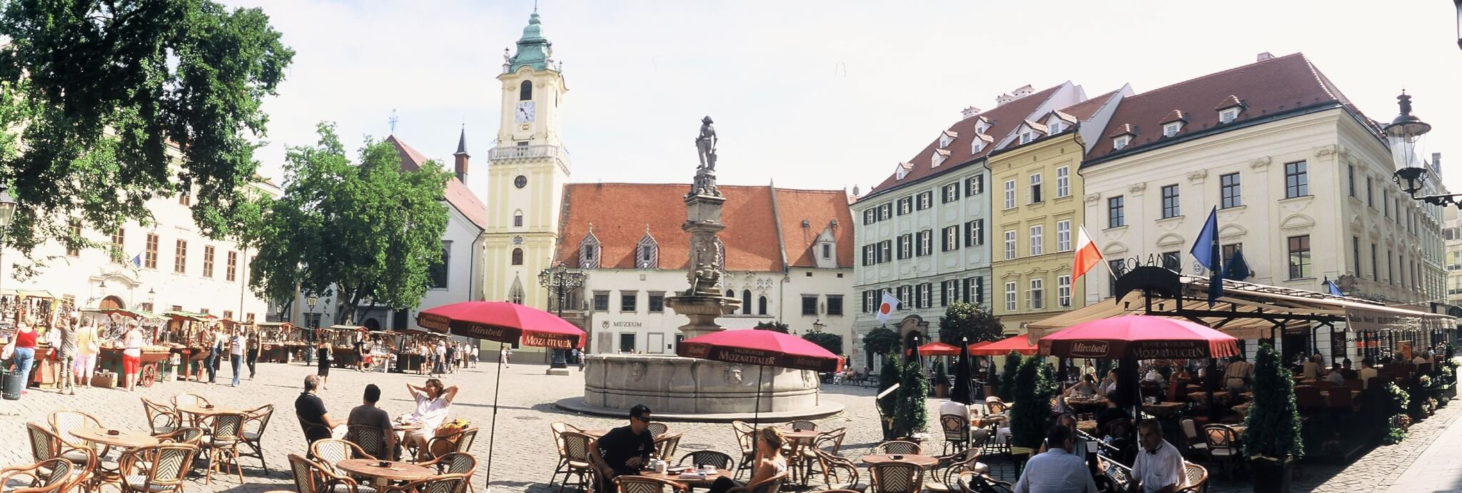 Bratislava in Summer - Old Town Hall
