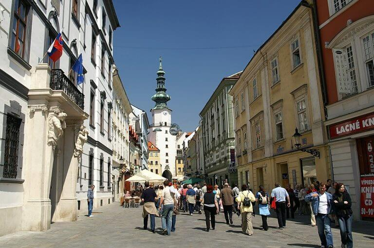 Michael's Tower on Michalska street