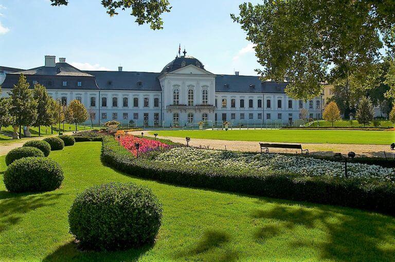 Grassalkovich Palace and Grassalkovich Garden