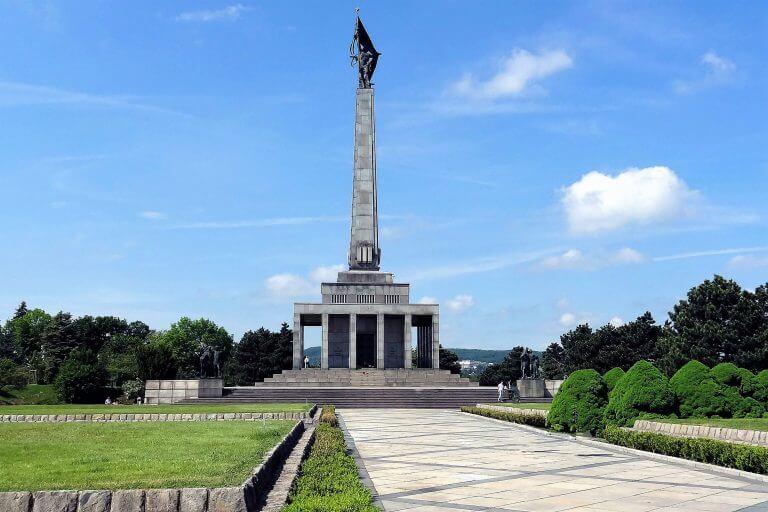 Bratislava Sights - Slavin memorial